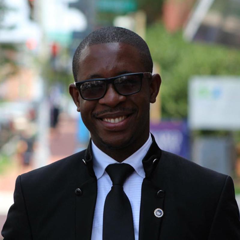 Jean Felix Mwema Ngandu, Msc